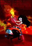 MARCELINE VS HUNSON ABADEER by preciouslittletoasty