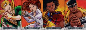 Marvel Beginnings 2 Heroes for Hire by KidNotorious