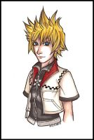 This is supposed to be Roxas.. by vin-cent-destati