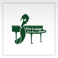 Fire Lounge Mild Sauce Logo by bracketstudiosinc