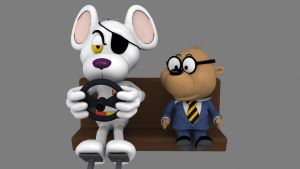 Danger Mouse and Penfold - 02 by IDW01