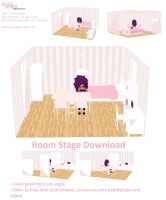 MMD Beautiful Stage Girl Room - DOWNLOAD by missmmd