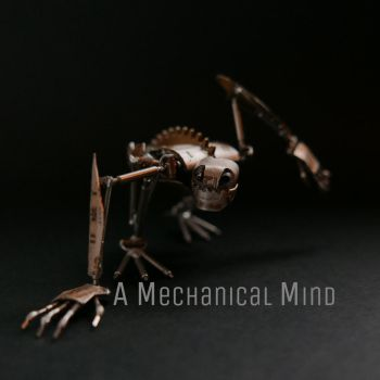 Articulated Watch Parts Creature 'Winder' by AMechanicalMind