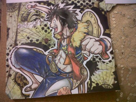 LUFFY!! (finished) by Hannahhbananahh