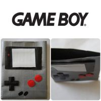 Gameboy Ducktape Pouch by xsuicidemakeover