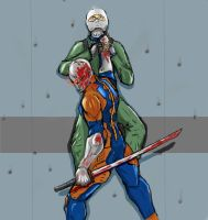 Gray Fox by Aazerus