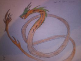 Luke the emperor serpent by dragoneye1843