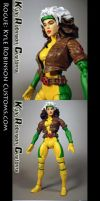 Custom X-Men Rogue Figure by KyleRobinsonCustoms