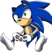 Xbox Sonic by NobleExorcist
