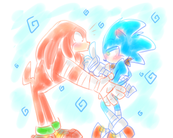 No Knuckles by SOHAGLES