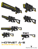 Hornet A-E Experimental Weapon by kid-cody