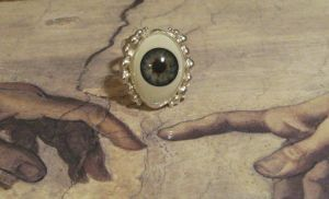 Eye Ring by Peaceofshine