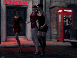 Girls Night Out by KristinF