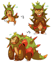 chespin evolution by nastyjungle