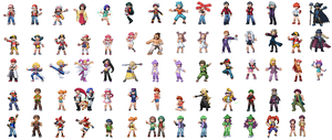 Pokemon Sprites by BrendanBass