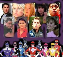 My Power Rangers Ultimate Team by HighwindDesign