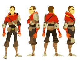 Soldier ( character design) by Alexisvivallo