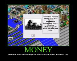 SimCity Motivational Poster 1 by QuantumInnovator