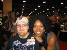 ME AT TORONT FAN EXPO 2007 10 by FUTURELISA1