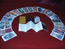 Fallen, Inc. Major Arcana Tarot Deck by HLMartin