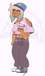 fallen angel (adopt) by whirlii
