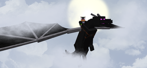 Flying the EnderDragon by Xbox-DS-Gameboy