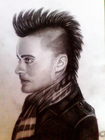 Jared Leto by DeadlyAngel-Drawings