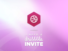 I need a Dribbble Invite by OmarMootamri