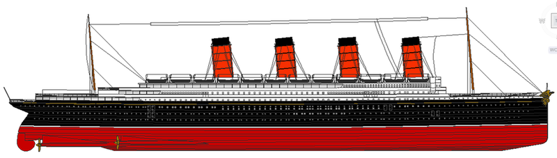 Rms Mauretania Deck Plans additionally Rms Oceanic Model additionally ...