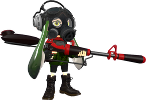 Inkling Commando by NeoMetalSonic360