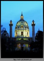 Karlskirche. by VeIra-girl
