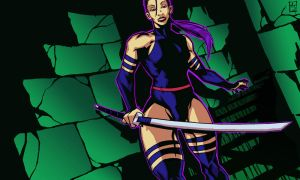 Psylocke-stairs by AJRPG