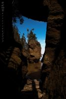 Hopewell Rocks by sillverrfoxx