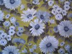 Vintage Daisy Fabric by SolStock
