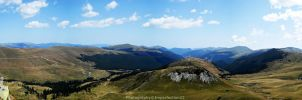 Transalpina panorama by Imperfection22