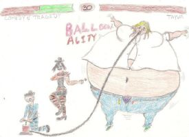 The Mural MK Comedy and Tragedys Balloonality by Violin100