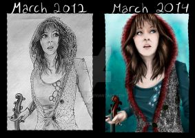 Redraw Lindsey Stirling by IngNor