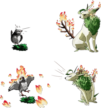 PARPG - Moves for Forest Fire (2) by dracothrope