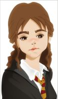 Hermione crying by yethro