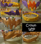 Crown WIP by boxthissideup