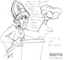 POPE JOHN by Smitkins