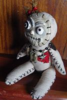 OOAK Voodoo Art Doll by claylindo