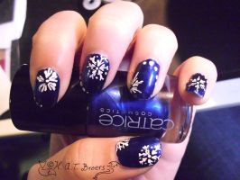 Snowflakes in September by Kythana