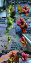 Fraggle Rock Charms by real-faker
