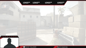 Twitch Overlay (redline ish) by proxyproject