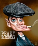 Cillian Murphy as Thomas Shelby by RussCook