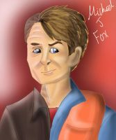 Michael J Fox Past and Present by Loveless-Nights