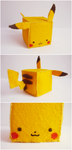Pikachu by Kyandi-charms