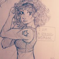 I am Strong by ThymeStruck