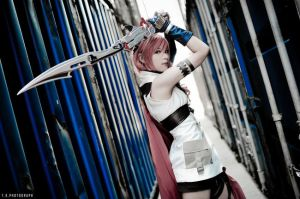 Final Fantasy lighning cosplay by boomjoy